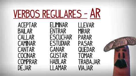 List of common regular and irregular verbs in Spanish ...
