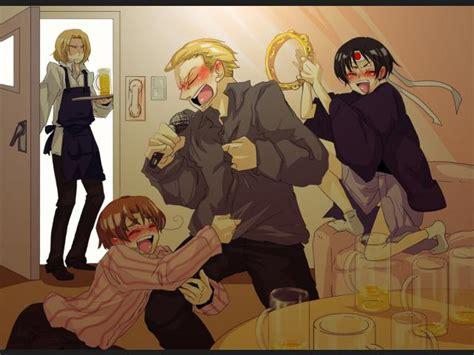Lista: Personajes Ebrios del Anime