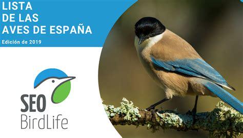 Listado de nombres en euskera de las aves de España ...