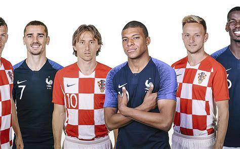 ¡Listas las alineaciones Final Rusia 2018! Francia y ...