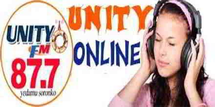 Listen Unity FM 87.7   Online Radio Live