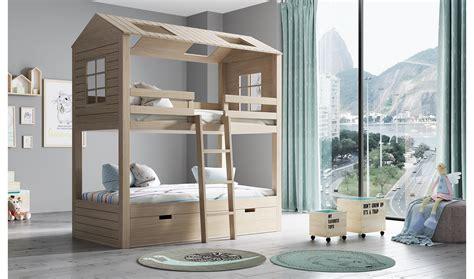 Litera infantil 3 camas 2 aguas Casita en COSAS de ...