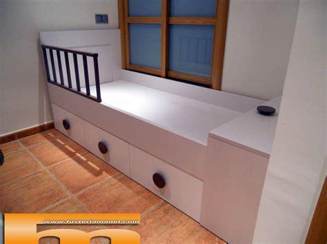 Litera medida y cama individual a medida | Muebles a ...