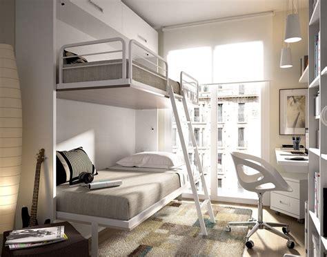 literas abatibles   para dormitorios pequeños | Literas ...