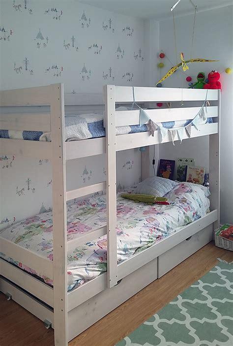 Literas infantiles baratas de madera ecológica con camas y ...