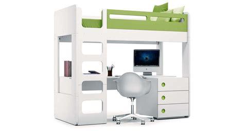 Literas infantiles con escritorio modernas y de diseño ...