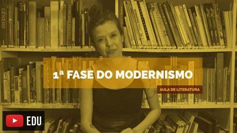 Literatura Brasileira: 1ª Fase Modernismo  Aula 16    YouTube