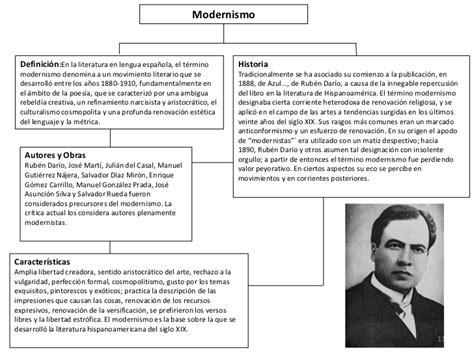 Literatura del Modernismo   Literatura Latinoamericana