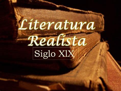 Literatura del Romanticismo, Realismo, Naturalismo y ...