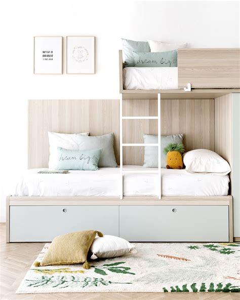 Lito cama tren infantil menta   Kenay Home
