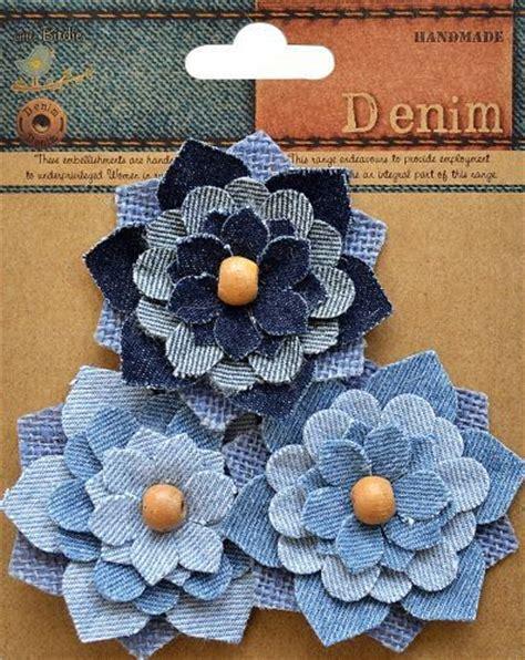 Little Birdie Crafts   Denim Collection   Aspen Flower ...