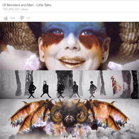 Little Talks video hits 100 million views!   Of Monsters ...