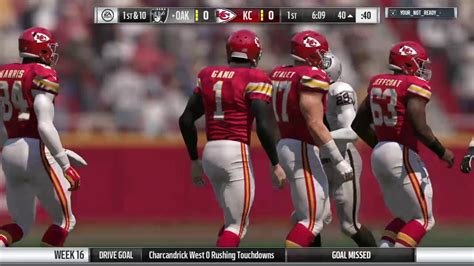Live from the 216  Madden curse Lg s04 wk16 vs raiders 1 ...