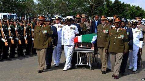 Live: Nelson Mandela funeral   BBC News
