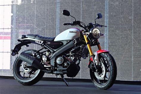 Live Photos of India Bound Yamaha XSR155 Retro Motorcycle
