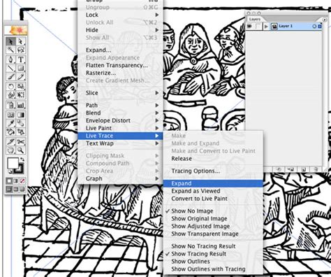 Live Trace in Illustrator. Create Accurate Line Art Tracings.