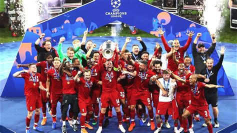 Liverpool Champions League Trophy Presentation 2019   YouTube