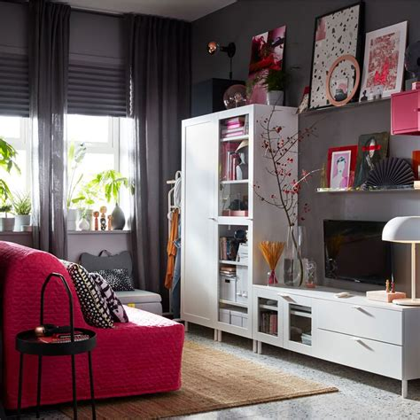 Living space with outstanding storage, 24/7   IKEA