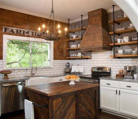 Lo básico para decorar una cocina rústica   Casa y Color