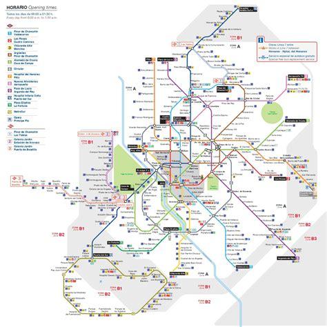 Lo Esencial Sobre Los Planos Del Metro De Madrid ...
