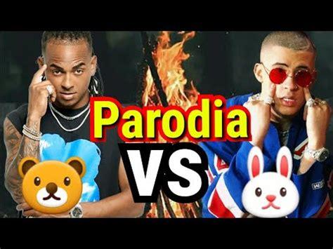 Lo mejor de bad bunny ft ozuna    Parodia  te bote remix ...