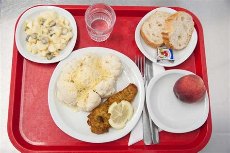 Lo que comen los niños franceses en el almuerzo del ...