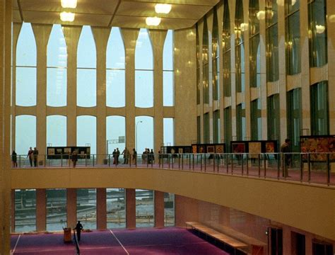 Lobby of World Trade Center, New York City, 1970 2001 ...
