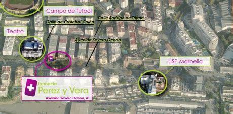 Localizacion de la Farmacia Perez y Vera
