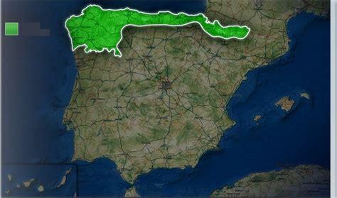 Localización del clima oceánico en la Península Ibérica ...