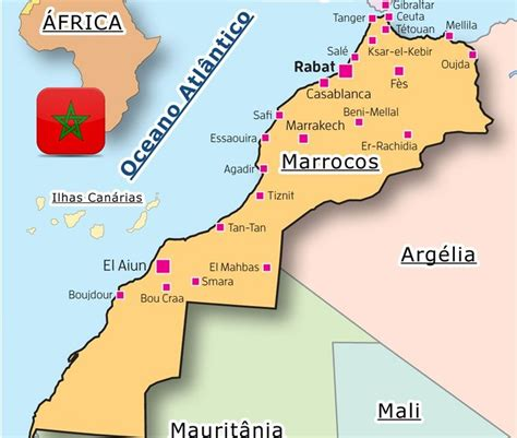 Location of Morocco and borders, Where is Morocco