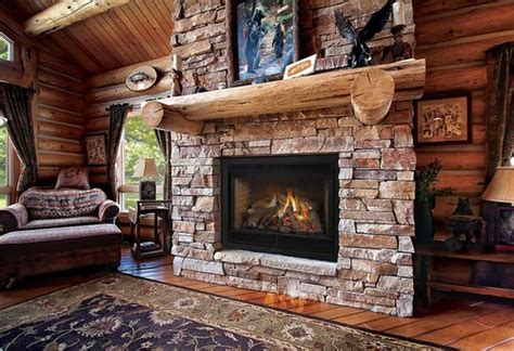 Log Cabin Fireplaces: Your Inspiration   Log Cabin Hub