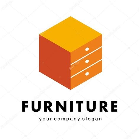 Logo for furniture companies, shops — Stock Vector  kar ...