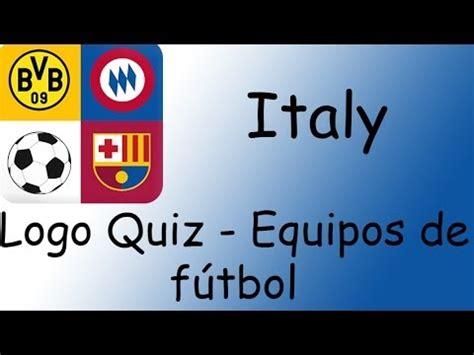 Logo Quiz   Equipos de fútbol. Italy   YouTube