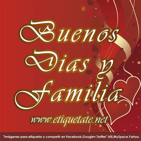 logos de facebook buenos dias familia   Buenos Dias ...