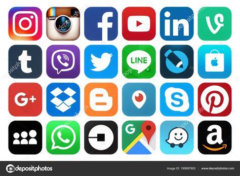 Logos de redes sociales 2018 | Kiev Ucrania Marzo 2018 ...
