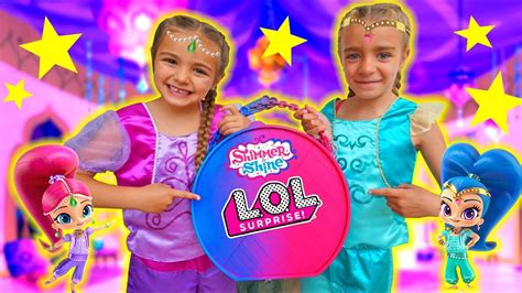 LOL BIG SURPRISE GIANT BALL SHIMMER AND SHINE!! Las ...