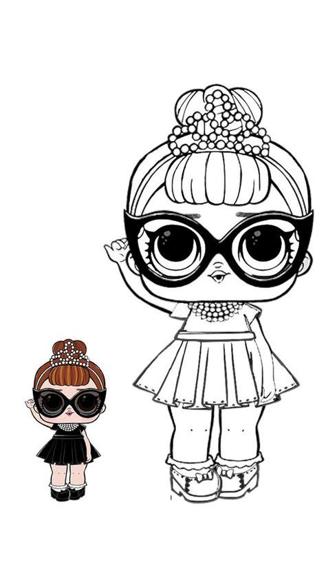 LOL modelo para colorear | Cute coloring pages, Lol dolls ...