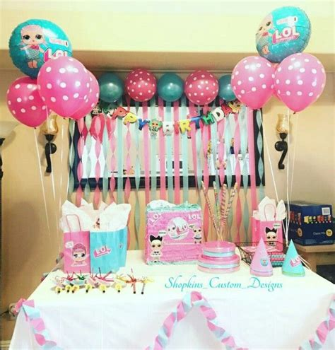 Lol Surprise Birthday Party. Lol Surprise Cake. Lol ...