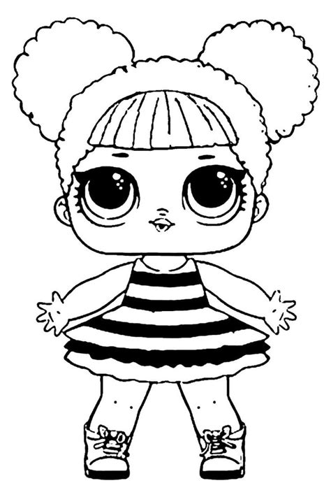 LOL Surprise doll para colorear. ¡Imprime gratis! Toda la ...