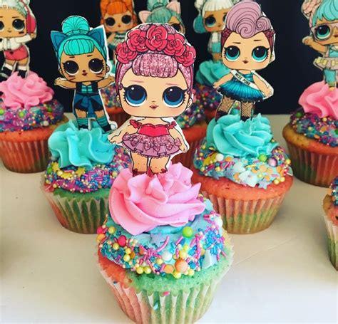 LOL Surprise Dolls Cupcakes | LOL Surprise Party Ideas in ...