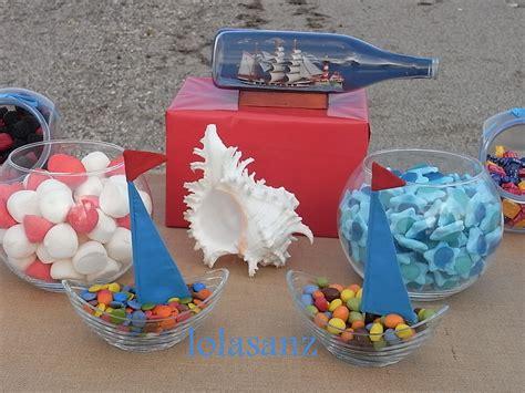 lolaSanz: Mesa de chuches en una fiesta marinera