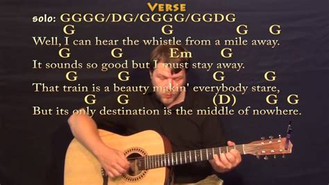 Long Black Train  Josh Turner  Fingerstyle Guitar Cover ...
