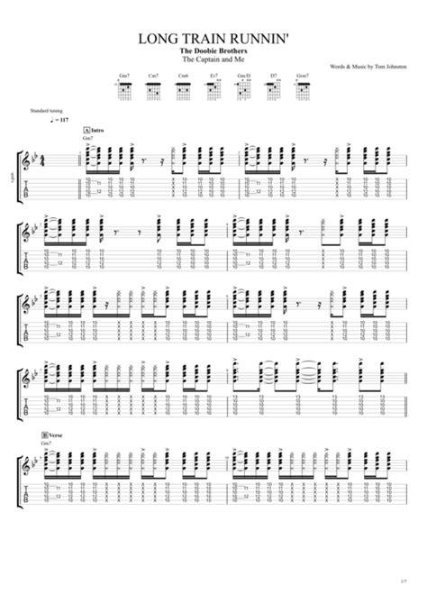 Long Train Runnin  by The Doobie Brothers   Full Score ...