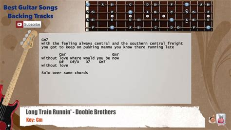 Long Train Runnin    Doobie Brothers Bass Backing Track ...