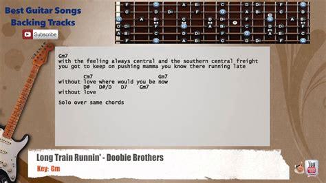 Long Train Runnin    Doobie Brothers Guitar Backing Track ...