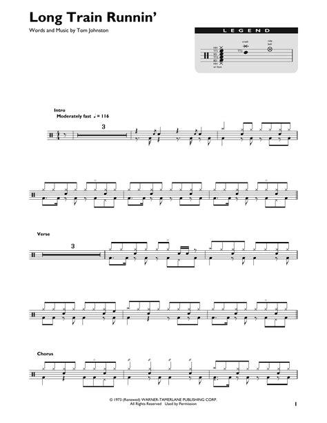 Long Train Runnin  Sheet Music | The Doobie Brothers ...