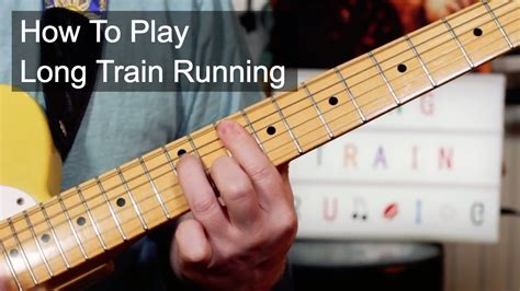 Long Train Running  Doobie Brothers Guitar Lesson   YouTube