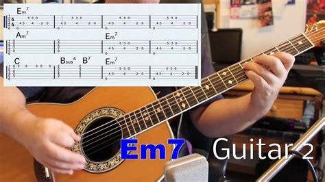 Long Train Running in E Minor Guitar II Advanced Lesson ...