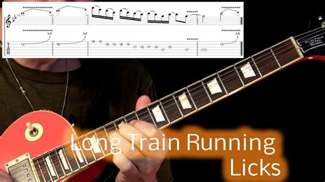 Long Train Running Licks   Guitar Lesson   YouTube