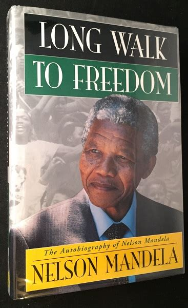 Long walk to freedom is a book written by ...